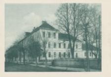 Rzeszów. Ul. Krakowska II Gimnazjum [Pocztówka]