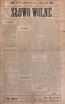 Słowo Wolne. 1897, R. 1, nr 1-13