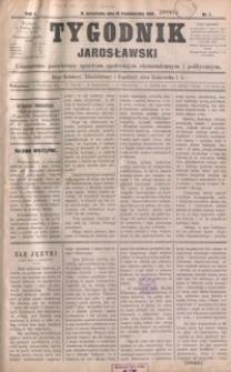 Tygodnik Jarosławski : czasopismo poświęcone sprawom społecznym, ekonomicznym i politycznym. 1896, R. 1, nr 1, 3-11