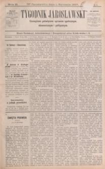 Tygodnik Jarosławski : czasopismo poświęcone sprawom społecznym, ekonomicznym i politycznym. 1897, R. 2, nr 1-15