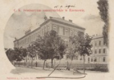 C. K. Seminaryum nauczycielskie w Rzeszowie [Pocztówka]