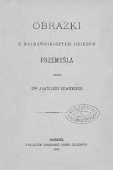 Obrazki z najdawniejszych dziejów Przemyśla
