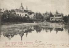 Staw w ogrodzie Sokoła w Rzeszowie [Pocztówka]