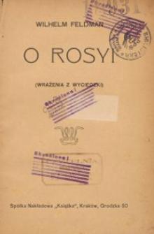 O Rosyi (wrażenia z wycieczki)