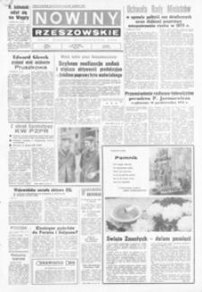 Nowiny Rzeszowskie : organ KW Polskiej Zjednoczonej Partii Robotniczej. 1972, nr 303-332 (listopad)