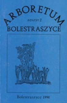 Porosty apofityczne jako wynik antropopresji : materiały z Sympozjum, Bolestraszyce 4-9 wrzesień 1993