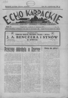 Echo Karpackie : tygodnik ilustrowany. 1927, R. 2, nr 1-13, 19-22, 24