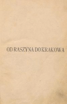 Od Raszyna do Krakowa