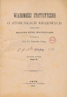 Wiadomości Statystyczne o Stosunkach Krajowych R. 8, z. 1-3
