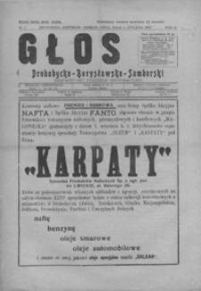 Głos Drohobycko-Borysławsko-Samborski : bezpartyjny tygodnik informacyjny. 1929, R. 4, nr 1-33