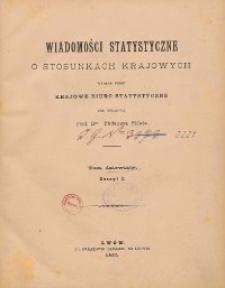 Wiadomości Statystyczne o Stosunkach Krajowych R. 9, z. 1-3