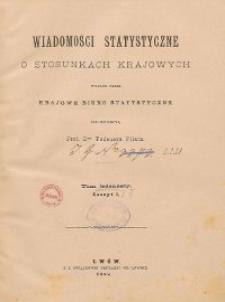 Wiadomości Statystyczne o Stosunkach Krajowych T. 11, z. 1-3