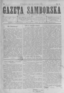 Gazeta Samborska. 1896, R. 3, nr 1-16
