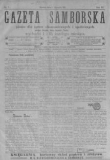 Gazeta Samborska : pismo dla spraw ekonomicznych i społecznych okręgu: Sambor, Stary Sambor, Turka. 1911, R. 11, nr 1-24
