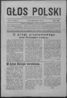 Głos Polski : niezawisły organ mieszkańców Lwowa. 1928, R. 2, nr 11-12