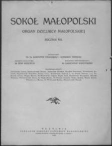 Sokół Małopolski : organ Dzielnicy Małopolskiej. 1937, R. 7, nr 1-12