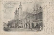 C. K. Gymnazyum ; Kościół Popijarski w Rzeszowie ; C. K. Starostwo [Pocztówka]