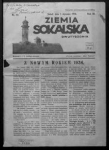 Ziemia Sokalska. 1936, R. 3, nr 25-27