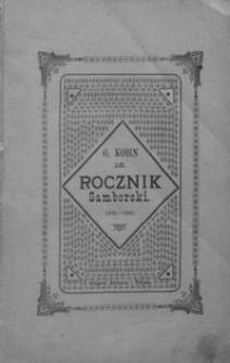 Rocznik Samborski : nowa serja illustrowana : wydawnictwo na cele dobroczynne samborskie. 1892-1893, R. 16