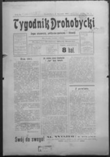 Tygodnik Drohobycki : organ niezawisły, polityczno-społeczny i literacki. 1913, R. 2, nr 1- 52