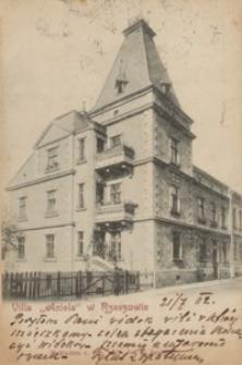 """Villa """"Aniela"""" w Rzeszowie [Pocztówka]"""