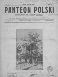 Panteon Polski : poświęcony kronice walk o niepodległość, bohaterstwu żołnierza polskiego i pamięci poległych o wolność Polski. 1930, R. 7, nr 64-74