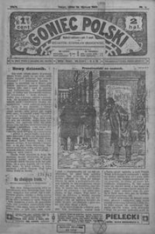Goniec Polski. 1907, R. 1, nr 1-14 (styczeń)