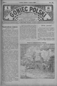 Goniec Polski. 1907, R. 1, nr 38-63 (marzec)