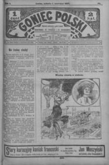 Goniec Polski. 1907, R. 1, nr 111-135 (czerwiec)