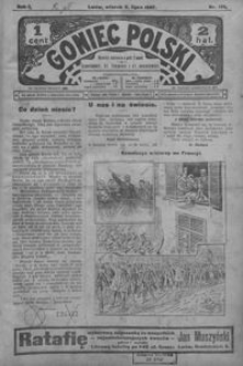 Goniec Polski. 1907, R. 1, nr 136-161 (lipiec)
