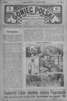 Goniec Polski. 1907, R. 1, nr 188-212 (wrzesień)