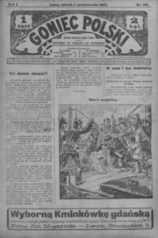 Goniec Polski. 1907, R. 1, nr 213-239 (październik)
