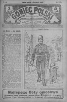Goniec Polski. 1907, R. 1, nr 240-264 (listopad)