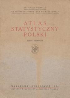 Atlas statystyczny Polski. Z. 1