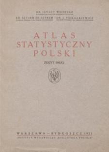 Atlas statystyczny Polski. Z. 2