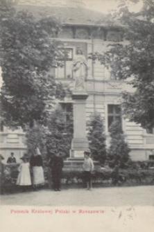 Pomnik Królowej Polski w Rzeszowie [Pocztówka]