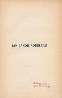 Jan Jakób Rousseau
