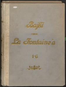Bajki podług La Fontaine'a Ks. 1-6