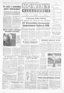 Nowiny Rzeszowskie : organ KW Polskiej Zjednoczonej Partii Robotniczej. 1973, nr 59-62, 64-67, 69-74, 76-80, 82-89 (marzec)