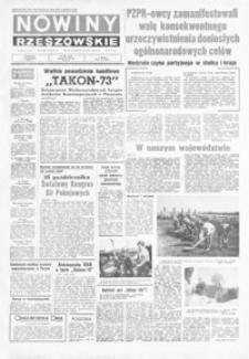 Nowiny Rzeszowskie : organ KW Polskiej Zjednoczonej Partii Robotniczej. 1973, nr 270-300 (październik)