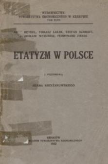 Etatyzm w Polsce