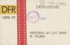 Zaproszenie : historia 50 lat ZSRR w filmie