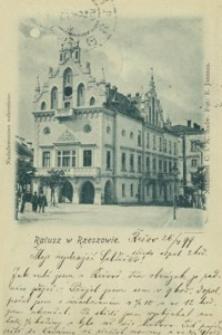 Ratusz w Rzeszowie [Pocztówka]