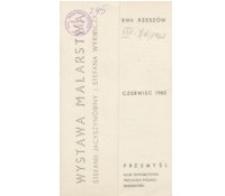 Wystawa malarstwa Stefanii Jacyszynówny i Stefana Wyrwicza [katalog]