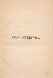 Adam Mickiewicz w feljetonach literackich : pism zbiorowych tom ósmy