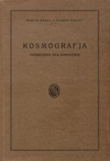 Kosmografja : podręcznik dla gimnazjów