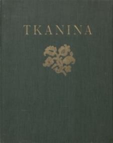 Tkanina : ornamenty i wzory używane na tkaninach od czasów starożytnych do początków w. XIX-go