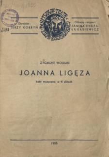 Joanna Ligęza : baśń muzyczna w 4 aktach