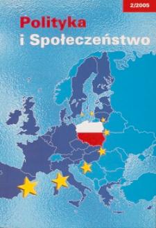 Polityka i Społeczeństwo nr 2 (2005)