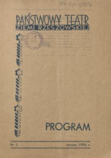 Program. 1956, nr 2 (marzec)